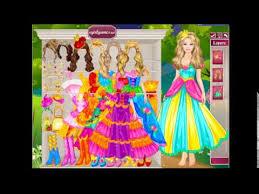 barbie s castle dress up game free kids