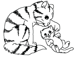 kitty cat coloring page kitty cat coloring pages of kittens to print colouring cute kitty cat