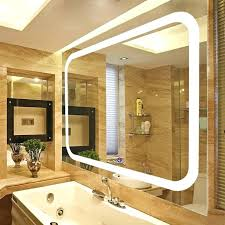 wall mounted lighted mirror wall mounted illuminated magnifying mirror