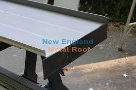 making the drip edge lock on standing seam metal roofing panel