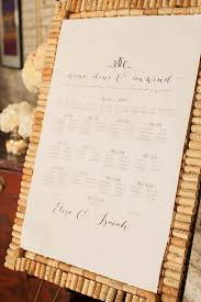 Pin By The Knot On Escort Cards Seating Chart Wedding