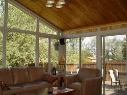 sunroom interiors. Awesome Sunroom Designs For Your Home Interior Ideas: Traditional With Brown Sofa And Interiors B