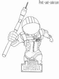 Ferdinand Da Colorare Coloriage Fortnite Battle Royale Personnage