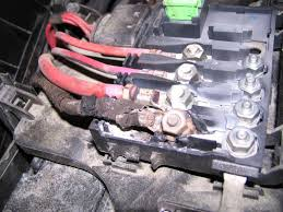 another damaged fuse box tdiclub forums my plan at this point is to replace the alternator along pulley the belt the alternator wire and the fuse box along new fuses