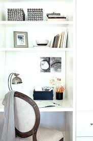 office floating desk small. Small Floating Desk Built In Office Kitchen Features White Lacquer And Orange22 Minimal Z