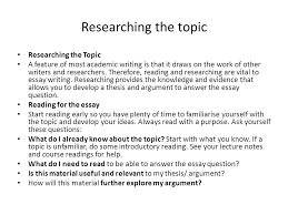 how to prepare and present high quality essays ppt video online  5 researching