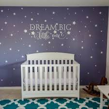 dream big little one wall art dream big little one wall decal nursery wall decal nursery