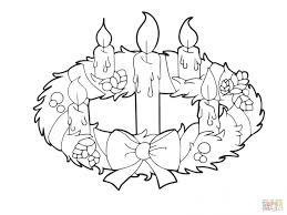 Advent Wreath Coloring Pages - www.allegiancewars.com | www ...
