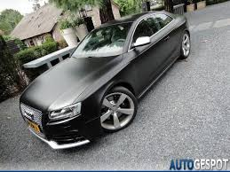 matte black audi a6. silver u0026 matte black audi rs 5 photo set on autogespot blogs fourtitudecom a6