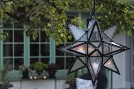 winner moravian star pendant