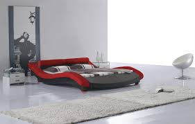 black modern platform bed. Black Modern Platform Bed F