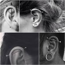 Ear Piercing Chart Ear Piercings Chart Ear Piercings For Men And Women