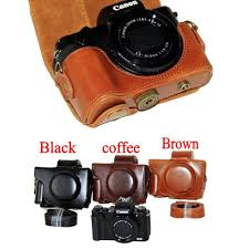 top 10 pu leather <b>digital</b> camera case list and get <b>free shipping</b> - a513