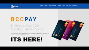 bitconnect debit card is here