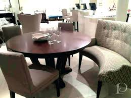 round banquette seating curved banquette seating endearing kitchen