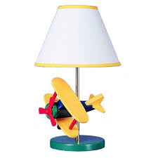 Airplane Light Fixture Home Depot Filament Design Cooper 11 In Multi Color Airplane Novelty Lamp