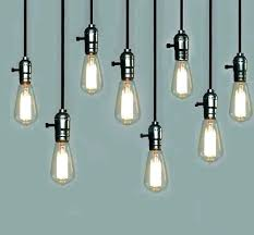 creative hanging lights bulb lamp and vintage pendant with for cool fairy bedroom