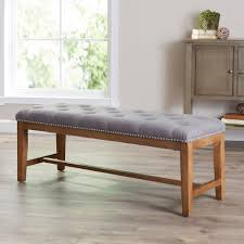 dining room table with upholstered bench. Lansing Upholstered Bench Dining Room Table With .