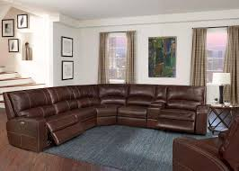 image is loading swift clydesdale modular leather sectional sofa power headrest