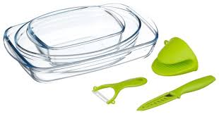 <b>Набор посуды</b> для запекания Pyrex <b>6 предметов</b> 912S756OK ...