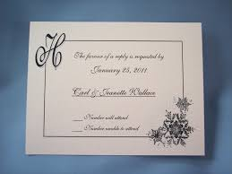 response cards template invitations exquisite wedding response cards ideas salondegas com