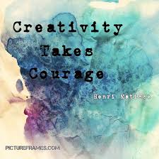 Image result for creativity takes courage tote bag