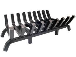 super heavy duty fireplace grate 36 inch wide 1¼ inch solid steel construction gratewalloffire com