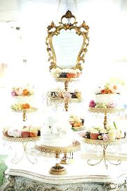 chandeliers chandelier cupcake holder cup cake stand carousel white iron two tiers whole china