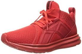 puma kids shoes. puma kids\u0027 enzo jr sneaker, high risk red, 4 m us big kid puma kids shoes