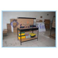garage metal workbench. china heavy duty garage workshop metal workbench, wood diy tools workbench