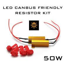 led load resistor wiring diagram led image wiring 50w led canbus error load resistor kit on led load resistor wiring diagram