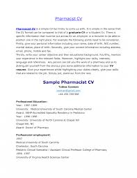 Pharmacist Resume Pdf Jd Templates Hospital Pharmacist Resume Pharmacy Technician Template 10