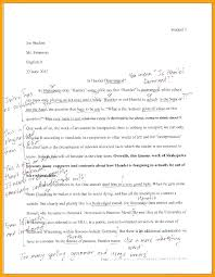 Sample Mla Style Paper Format On Essay Template Drummer Info 6 Sample Mla Style