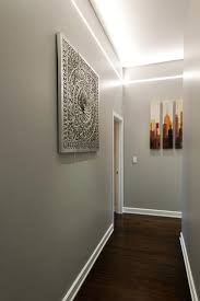 modern hallway lighting. Led Hallway Lights Reveal Plaster In Linear System By Pure Lighting  Contemporary Hall . Modern N