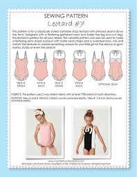 Leotard Sewing Pattern