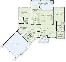 stupefying 9 ranch floor plans with angled garage walkout basement brilliant