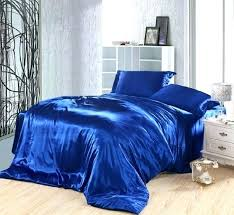 solid blue duvet covers royal blue duvet covers bedding set silk satin california king size queen
