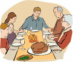 family turkey dinner clipart.  Clipart Dinner Clipart Feast Collection Of Eating Family Turkey Throughout A