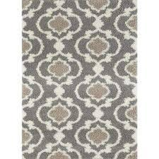 cozy moroccan trellis gray cream 7 ft 10 in x 10 ft