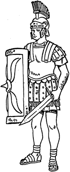 Rome Army Coloring Pages   Bulk Color