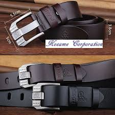 a product number m013 a brand name men s long belt material 100 of genuine leather a color black brown waist adjustment i cut it and am possible