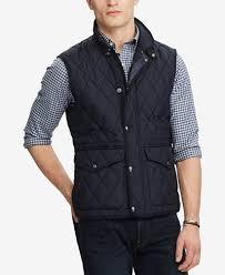 Polo Ralph Lauren Men's Iconic Quilted Vest - Coats & Jackets ... & Polo Ralph Lauren Men's Iconic Quilted Vest Adamdwight.com