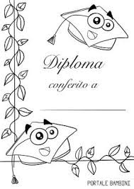 Diplomi Da Stampare Per Bambini Portale Bambini Schede E Idee