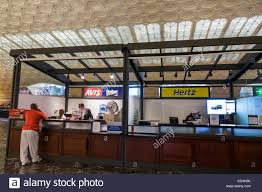 Budget Car Rental Stock Photos Budget Car Rental Stock Images Hertz Rent A Car Los Angeles Union Station