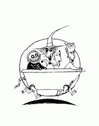 The Nightmare Before Christmas Free Printable Coloring Pages For Kids