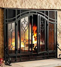 glass fireplace screen free standing home office soaking tubs freestanding custom fireplace