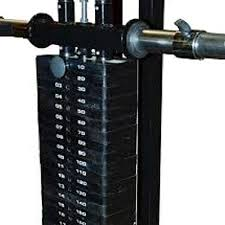 Powertec Lat Tower Optional Selectorized 194 Weight Stack
