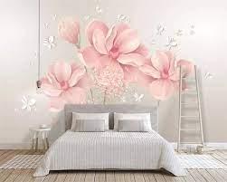 Beibehang wallpaper mural small fresh ...