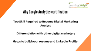 Analytic Skill Benefits Of Google Analytics Certification The Learning