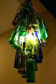 glass bottle chandelier luxury wine bottle light fixture chandelier and how to make a glass bottle